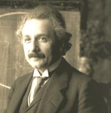 Einstein : carrière et vocation