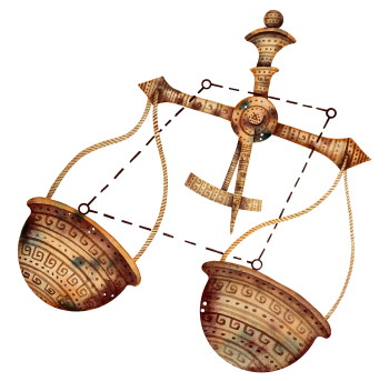 La vie et la politique pour la Balance, l'Ascendant Balance, la dominante planétaire Vénus ou la maison VII chargée