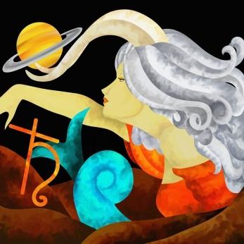 Quelle déco pour le Capricorne, l'Ascendant Capricorne, la dominante planétaire Saturne ou la maison X chargée