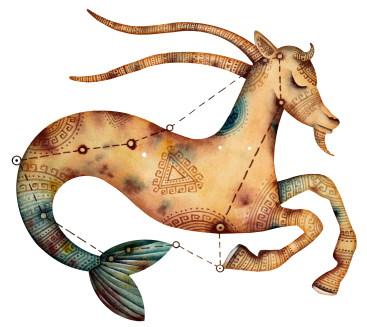 La vie et la politique pour le Capricorne, l'Ascendant Capricorne, la dominante planétaire Saturne ou la maison X chargée
