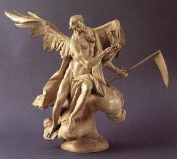 Saturne, une réputation peu flatteuse : dans la mythologie Saturne appelé Chronos, le dieu du temps, détrôna et castra son propre père Uranus. Craignant de perdre son pouvoir et se méfiant même de ses  enfants, il les dévorait dès que son épouse Rhéa les mettait au monde. Celle-ci afin de les protéger de ce sort funeste, lui fit avaler une pierre à la place de Jupiter, leur fils cadet. Plus tard Jupiter le détrôna en effet, et lui fit régurgiter tous ses frères et soeurs dont Neptune et Pluton.