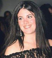Monica LEWINSKY, une ancienne amie de Bill CLINTON...