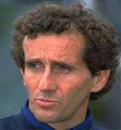 Alain PROST, un des français les plus rapides...