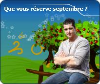 vos pr�visions astrologiques de septembre