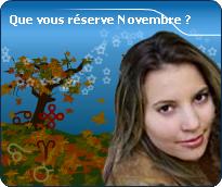 Pr�visions d�taill�es de novembre