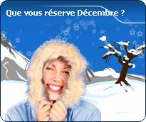 vos prévisions détaillées de décembre