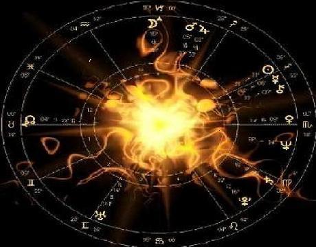 Le cercle zodiacal : la Terre est au centre pour l'astrologie