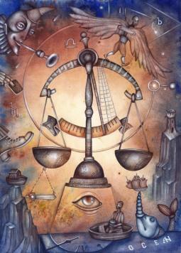 La santé pour la Balance, l'Ascendant Balance, la dominante planétaire Vénus ou la maison VII chargée