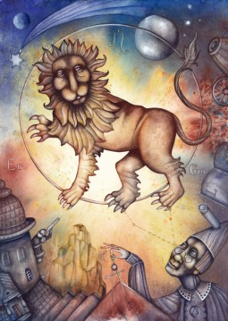 La santé pour le Lion, l'Ascendant Lion, la dominante planétaire Soleil ou la maison V chargée