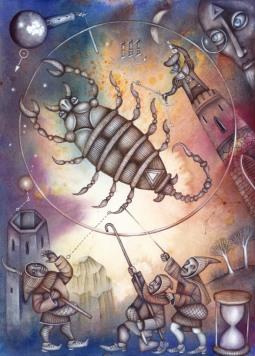 La santé pour le Scorpion, l'Ascendant Scorpion, la dominante planétaire Pluton ou la maison VIII chargée