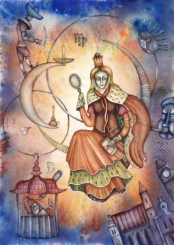 La santé pour la Vierge, l'Ascendant Vierge, la dominante planétaire Mercure ou la maison VI chargée