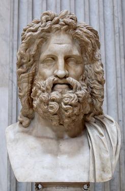 Une autre représentation de Jupiter, le Zeus d'Otricoli, musées du Vatican