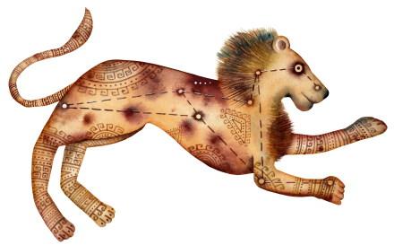 La vie et la politique pour le Lion, l'Ascendant Lion, la dominante planétaire Soleil ou la maison V chargée