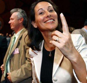 Ségolène Royal confiante et souriante en juin 2006