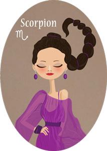 la plage pour le Scorpion, l'Ascendant Scorpion, la dominante planétaire Pluton ou la maison VIII chargée