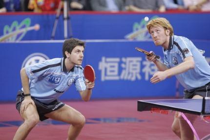 Un sport Gémeaux, le tennis de table