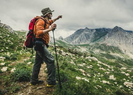 Un sport Taureau, la randonnée