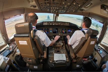 Un métier Verseau, pilote d'avion