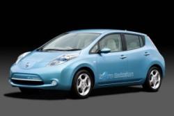La Nissan Leaf et la Vierge