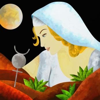 Quelle déco pour la Vierge, l'Ascendant Vierge, la dominante planétaire Mercure ou la maison VI chargée