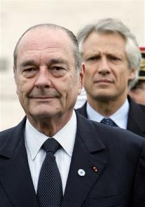 L'affaire Clearstream, pas facile à gérer pour l'exécutif en place, le Président Chirac perplexe, Dominique de Villepin au coeur du cyclone